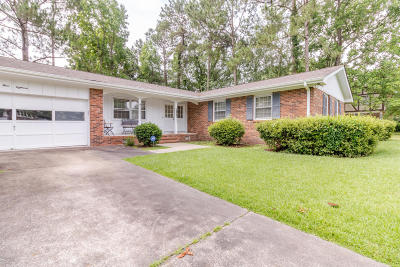 Onslow County Single Family Home For Sale: 418 University Drive