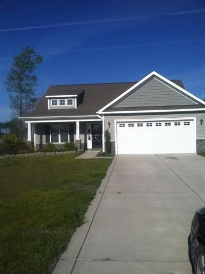 Holly Ridge, Sneads Ferry, Surf City, Topsail Beach Rental For Rent: 209 Gelynda Court