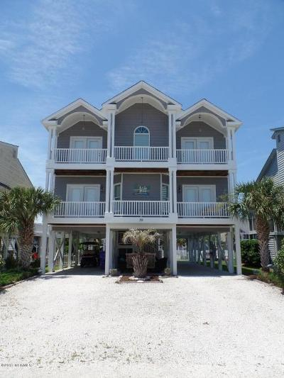 Ocean Isle Beach Single Family Home For Sale: 39 Union Street