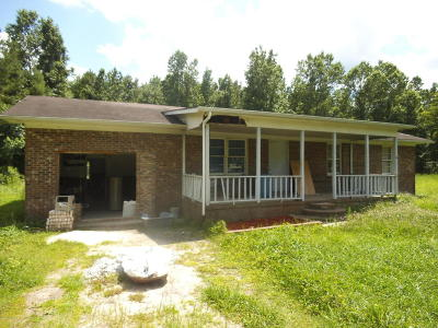 Onslow County Single Family Home For Sale: 1430 Deppe Loop Road