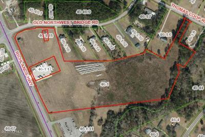 Jacksonville Residential Lots & Land For Sale: 6124 Richlands Highway