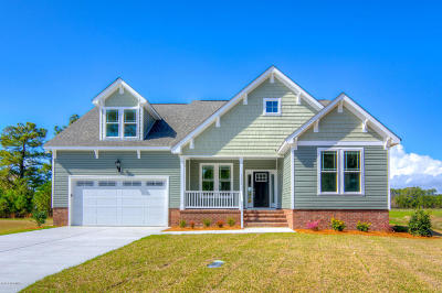 Morehead City Single Family Home For Sale: 1209 Hidden Cove Avenue