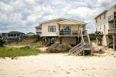Oak Island Single Family Home For Sale: 3509 E Beach Drive