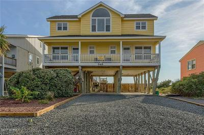 Holden Beach Single Family Home For Sale: 945 Ocean Boulevard W