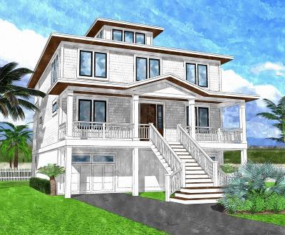 Wrightsville Beach Single Family Home For Sale: 11 E Fayetteville Street