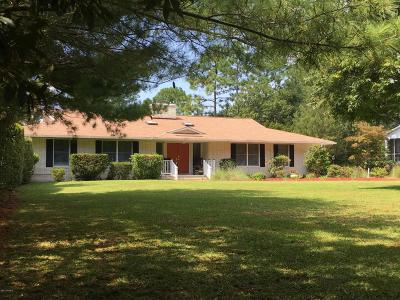 Cape Carteret Single Family Home For Sale: 118 Pine Lake Road
