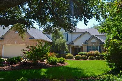 Pine Knoll Shores Single Family Home For Sale: 145 Loblolly Drive