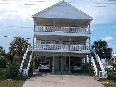 Atlantic Beach Single Family Home For Sale: 101 E Fort Macon Road #A