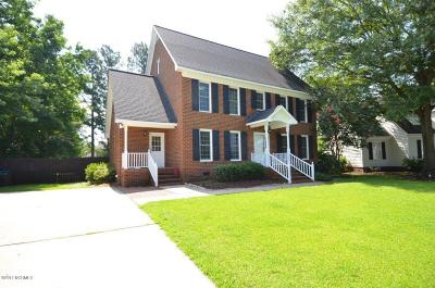 Greenville Single Family Home For Sale: 1608 Paramore Drive