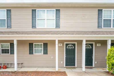 Swansboro Condo/Townhouse For Sale: 601 Peletier Loop Road #I54