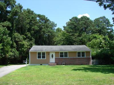 Jacksonville Single Family Home For Sale: 610 Vernon Drive