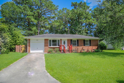 jacksonville Single Family Home For Sale: 404 Linwood Drive