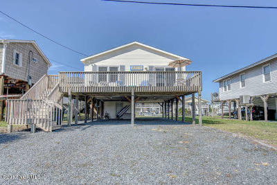 Topsail Beach Single Family Home For Sale: 103 Trout Avenue