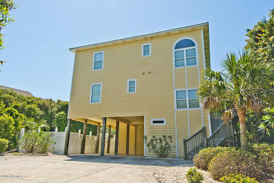 Indian Beach Single Family Home For Sale: 101 Sea Isle Drive