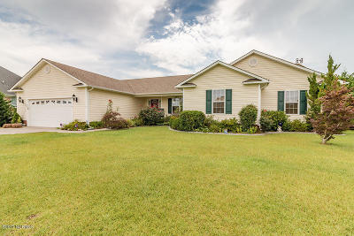 Onslow County Single Family Home For Sale: 912 Morganser Drive