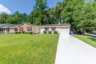 Jacksonville Single Family Home For Sale: 305 Nottingham Road