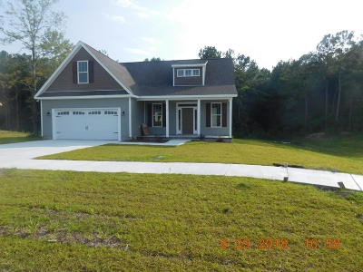 Swansboro Single Family Home For Sale: 112 Shadow Creek Drive