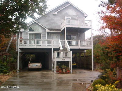 Emerald Isle Single Family Home For Sale: 208 Blue Crab Cove