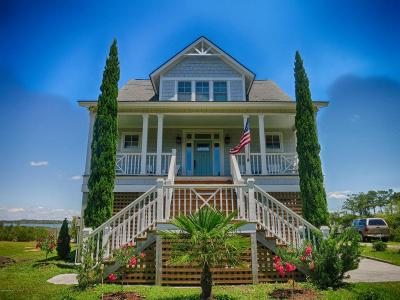 Harkers Island Single Family Home For Sale: 141 East Drive