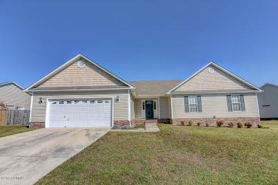 Jacksonville Single Family Home For Sale: 213 Dartmoor Trail
