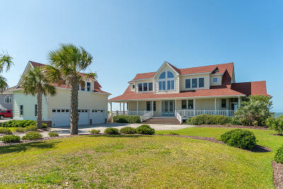 Harkers Island Single Family Home For Sale: 1048 Island Road