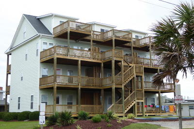 Atlantic Beach Multi Family Home For Sale: 219 W Terminal Boulevard #B