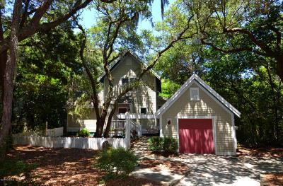 Bald Head Island Single Family Home For Sale: 19 Sabal Palm Trail