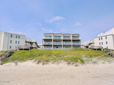 Indian Beach Condo/Townhouse For Sale: 855 Salter Path Road #112
