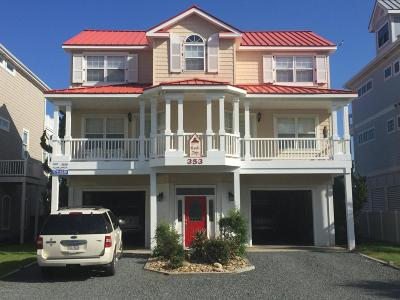Ocean Isle Beach Single Family Home For Sale: 353 W First Street