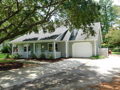 Morehead City Single Family Home Active Contingent: 3317 Mandy Lane