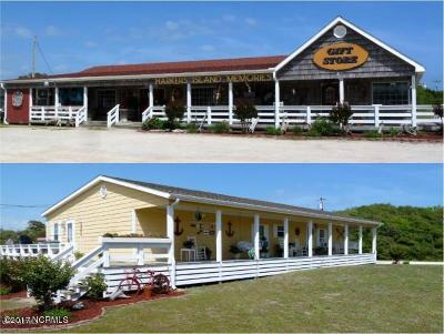 Harkers Island Commercial For Sale: 1355 Island Road