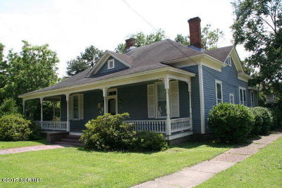 Edgecombe County Single Family Home For Sale: 1112 St Andrew Street