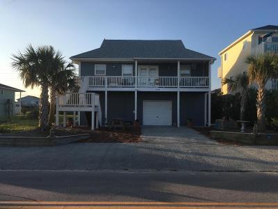 Topsail Beach Single Family Home For Sale: 1323 Carolina Boulevard