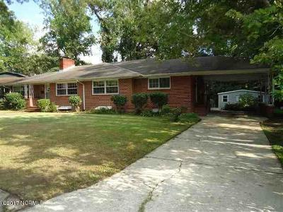 Jacksonville Single Family Home For Sale: 102 Jean Circle