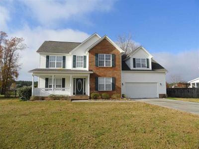 Hubert Single Family Home For Sale: 211 Target Lane