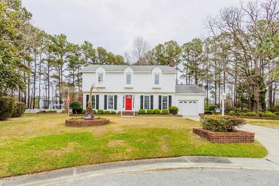 Jacksonville Single Family Home For Sale: 219 Yale Circle