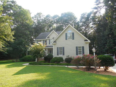 Rocky Mount Single Family Home For Sale: 6452 Saddlehorn Drive