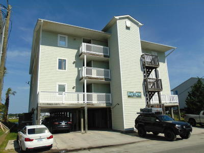Carolina Beach, Kure Beach Condo/Townhouse For Sale: 1305 Canal Drive #2