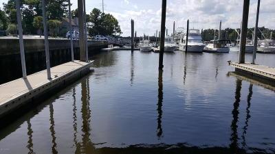 Wilmington Boat Slip For Sale: 6338 Oleander Drive #3-01