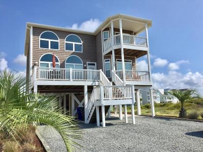Ocean Isle Beach Single Family Home For Sale: 74 W Second Street