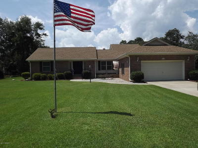 Shallotte Single Family Home For Sale: 8 Palmer Drive