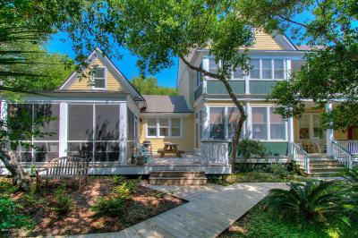 Bald Head Island Single Family Home For Sale: 614 Ocracoke Way