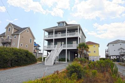North Topsail Beach, Surf City, Topsail Beach Single Family Home For Sale: 4426 Island Drive