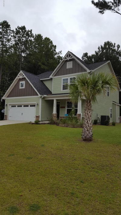 Sneads Ferry Single Family Home For Sale: 434 Canvasback Lane