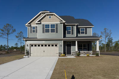 Sneads Ferry Single Family Home For Sale: 211 Salty Dog Lane