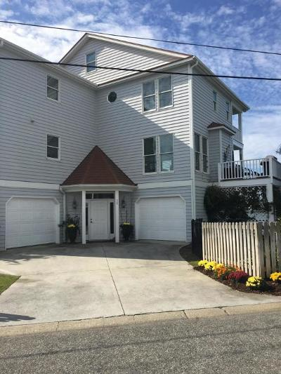 Wrightsville Beach Single Family Home For Sale: 25 W Oxford Street