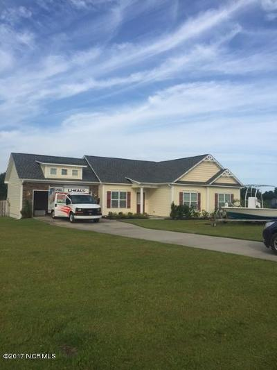 Holly Ridge, Sneads Ferry, Surf City, Topsail Beach Rental For Rent: 307 Hardison Road