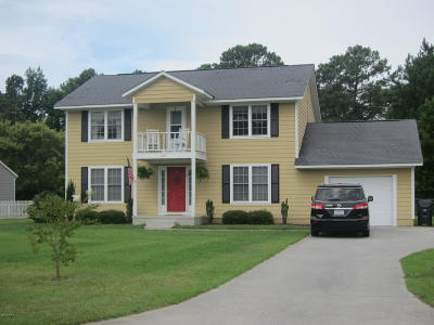 Morehead City Single Family Home For Sale: 1231 Creek Road