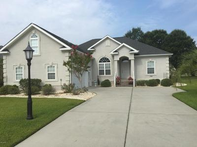 Calabash Single Family Home For Sale: 1080 Edenton Drive NW