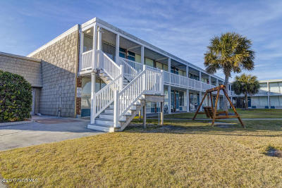 Atlantic Beach Condo/Townhouse For Sale: 1918 W Fort Macon Road #165
